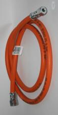 Wąż gazowy 14 lh uem x rvs 8 x 1500mm