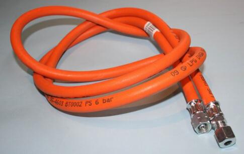 Wąż gazowy 2m 14 uem x rvs 8