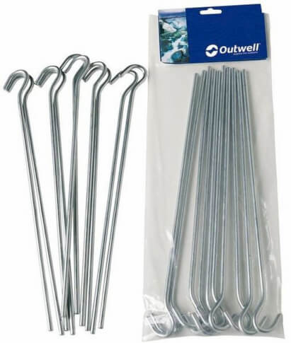 Szpilki Outwell – SKEWER 24cm – komplet 10 sztuk