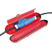 Zabezpieczenie połączenia elektrycznego na kempingu CEE – BIG