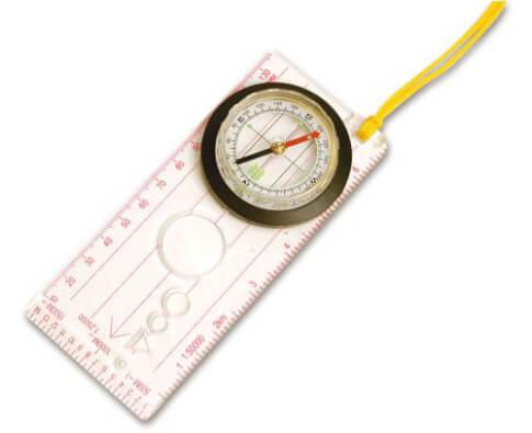 Kompas z linijką Brunner Orienteering