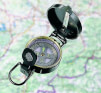 Retro kompas turystyczny Brunner Target