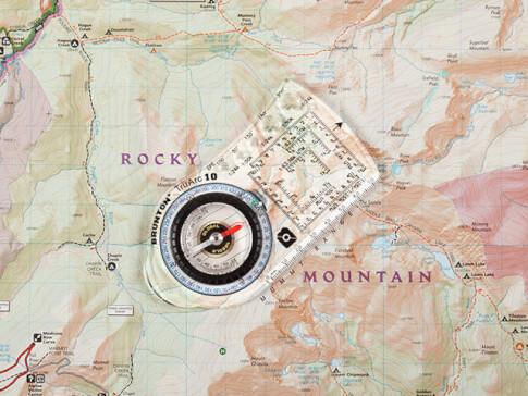 Kompas mapowy Brunton TruArc™ 10