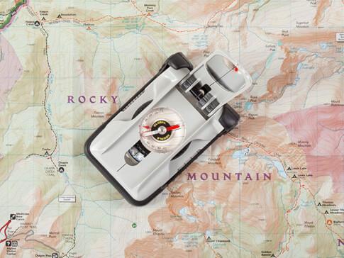 Kompas mapowy z lusterkiem Brunton TruArc™ 20