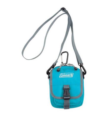 Saszetka na szyję torba Coleman – ZOOM BLUE