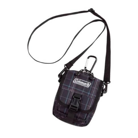 Saszetka na szyję torba Coleman – ZOOM kratka
