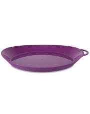 Talerz turystyczny Ellipse Camping Plate purple Lifeventure