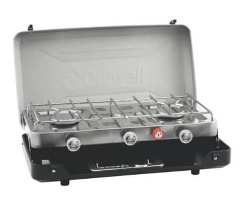 Kuchenka gazowa turystyczna Gourmet Cooker 3-Burner Stove wGrill