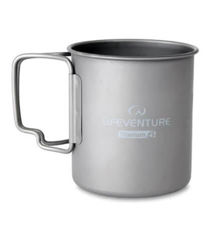 Kubek termiczny z tytanu Lifeventure Titanium mug 400ml