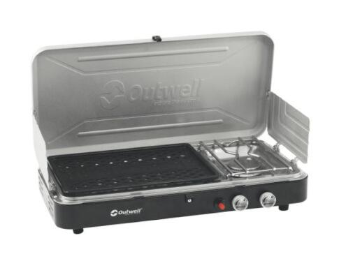 Turystyczna kuchenka gazowa z grillem Chef Cooker 2-Burner Stove wGrill