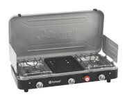 Turystyczna kuchenka gazowa z grillem Chef Cooker 3-Burner Stove wGrill