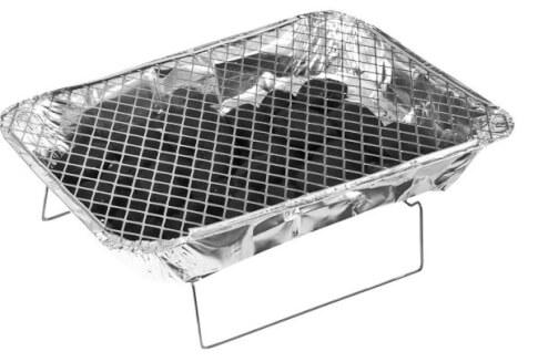 Duży grill jednorazowy Brunner Yugrill 48x31