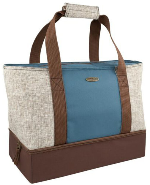 elegancka torba termiczna na plażę i piknik campingaz