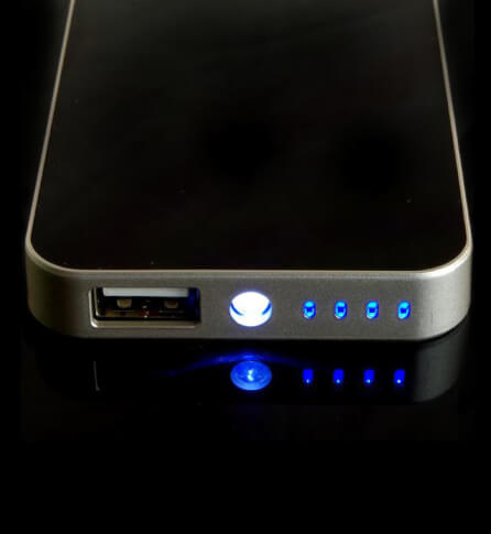 POWERBANK 4500mAh + LED Sunen