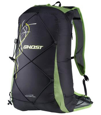 Ultralekki plecak CAMP GHOST black-green 15 L