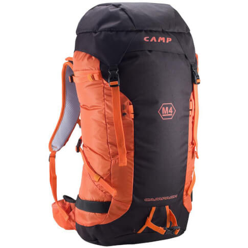 Plecak wspinaczkowy 40 L CAMP M4 red black