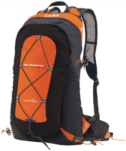 Plecak wspinaczkowy CAMP PHANTOM 2.0 orange-black 15 L