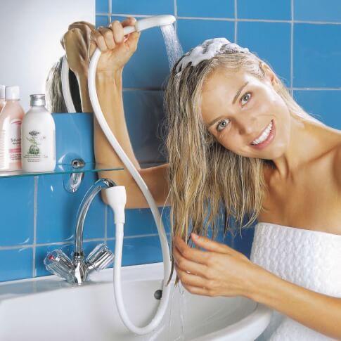 Turystyczny prysznic umywalkowy