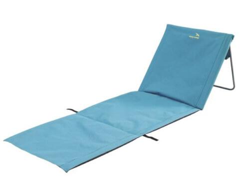 Mata plażowa z podpórką pod głowę Easy Camp Sun Blue