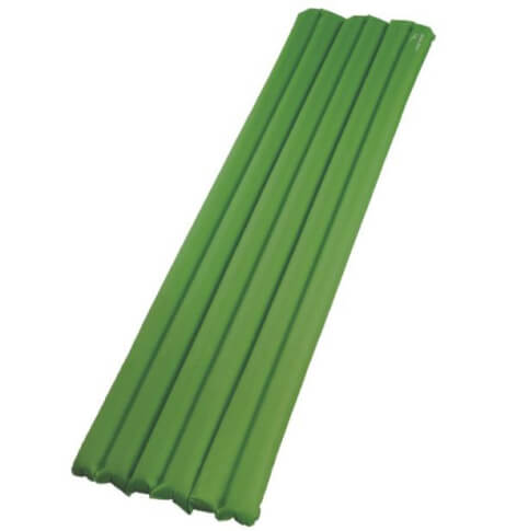 Materac z wbudowaną pompką Easy Camp Hexa Mat Green