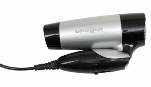 Suszarka do włosów podróżna Sciroque 110/220V Brunner