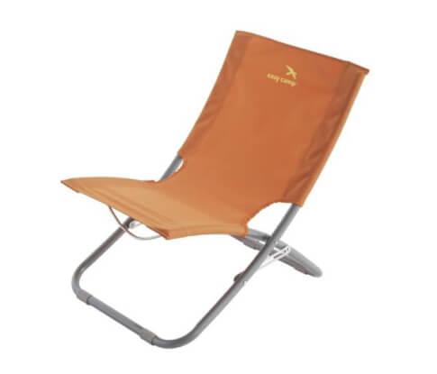 Krzesło leżak plażowy Easy Camp Wave Orange