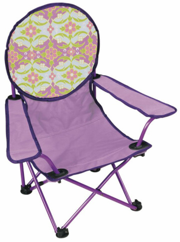 Krzesło dziecięce Outwell FLOWIES Rose