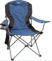 Krzesło kempingowe Brunner Armchair Comfort niebieskie
