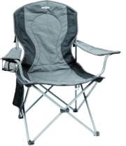 Krzesło kempingowe Brunner Armchair Comfort szare