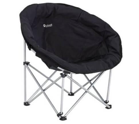 Krzesło kempingowe fotel Outwell Comfort Chair Classic Black