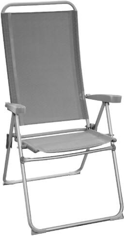Krzesło kempingowe Brunner Joy Go szare
