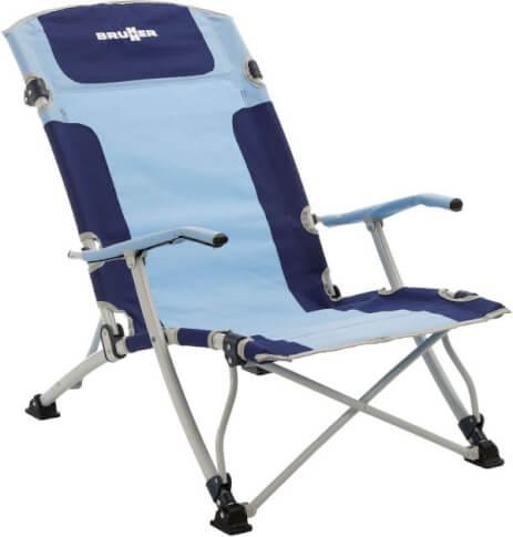 Krzesło plażowe Brunner - Bula XL - niebieskie