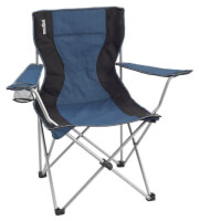 Krzesło składane Brunner Armchair Classic niebieskie