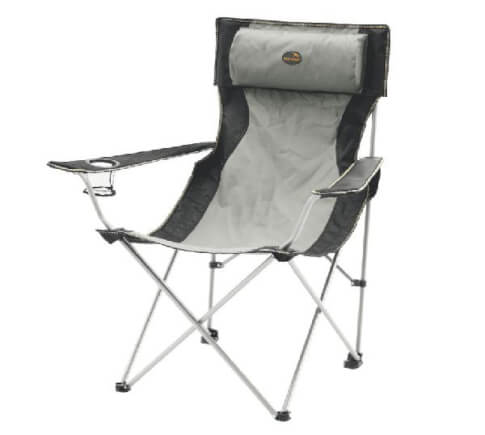 Krzesło składane Easy Camp Hi-Back Chair Grey