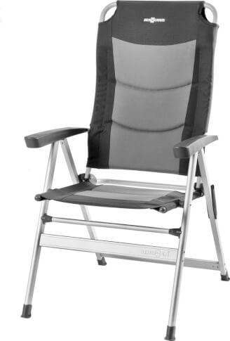 Krzesło turystyczne Brunner Kerry Slim 600 gray szary