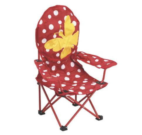 Krzesło turystyczne dla dzieci Outwell - Butterfly Girl Chair
