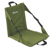 Siedzisko z oparciem Folding Beach Chair Piquant Green Outwell