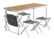 Stół kempingowy z krzesełkami Outwell Marilla Picnic Table Set