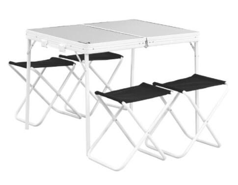 Stół kempingowy z krzesełkami Easy Camp Provence