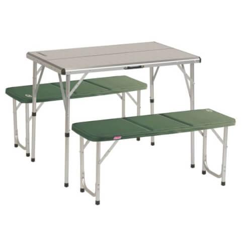 Stół turystyczny z ławkami Coleman Pack Away Table For 4