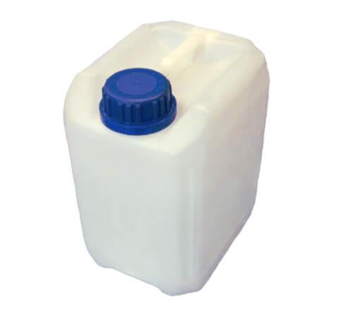 Pojemnik do przechowywania wody pitnej bez kranu kanister 5l
