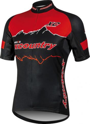 Koszulka na rower Vezuvio XC Country RED
