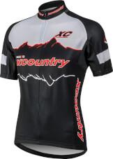 Koszulka na rower Vezuvio XC Country WHITE