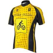 Koszulka rowerowa Nowatex BCM Nuclear Cycling żółta