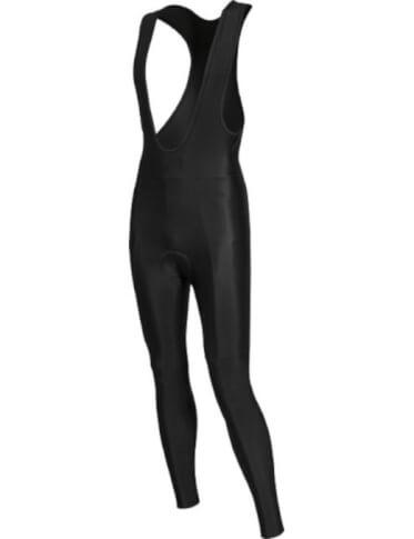 Długie spodnie na rower z szelkami i wkładką BCM Nowatex