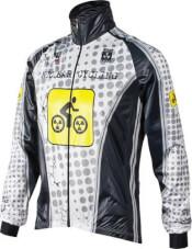 Kurtka rowerowa BCM Nuclear Cycling WHT, gamex