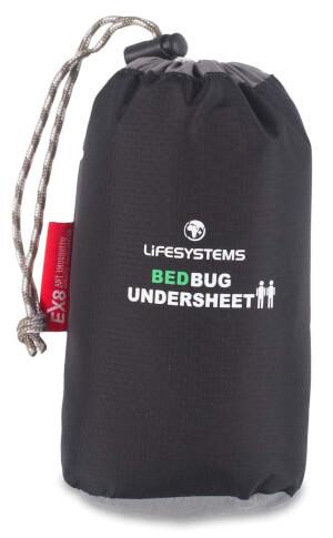 Zaimpregnowane prześcieradło przeciwko insektom BedBug 2 osobowe Lifesystems