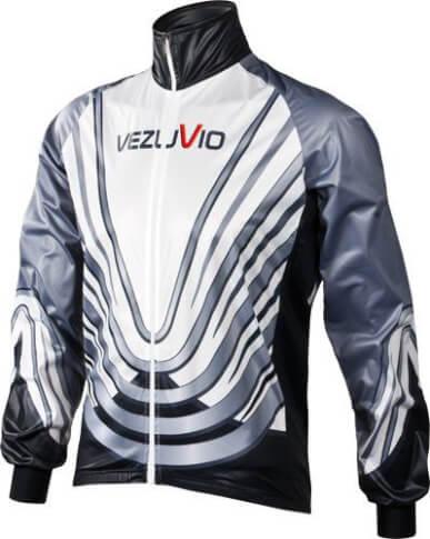 Kurtka wiatroodporna na rower Vezuvio Steel Hornet, gamex