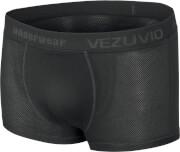 Bokserki techniczne z krótką nogawką potówka Q-Skin czarne