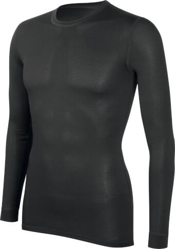 Techniczna koszulka z długim rękawem Meryl potówka czarna